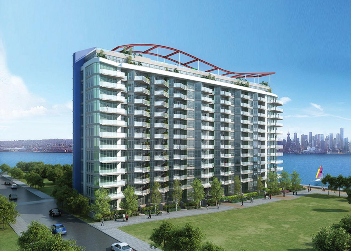 1005 - 179 Victory Ship Way, Lower Lonsdale, North Vancouver